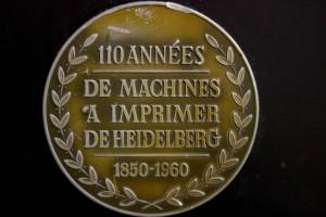 HEIDELBERG (plaque)