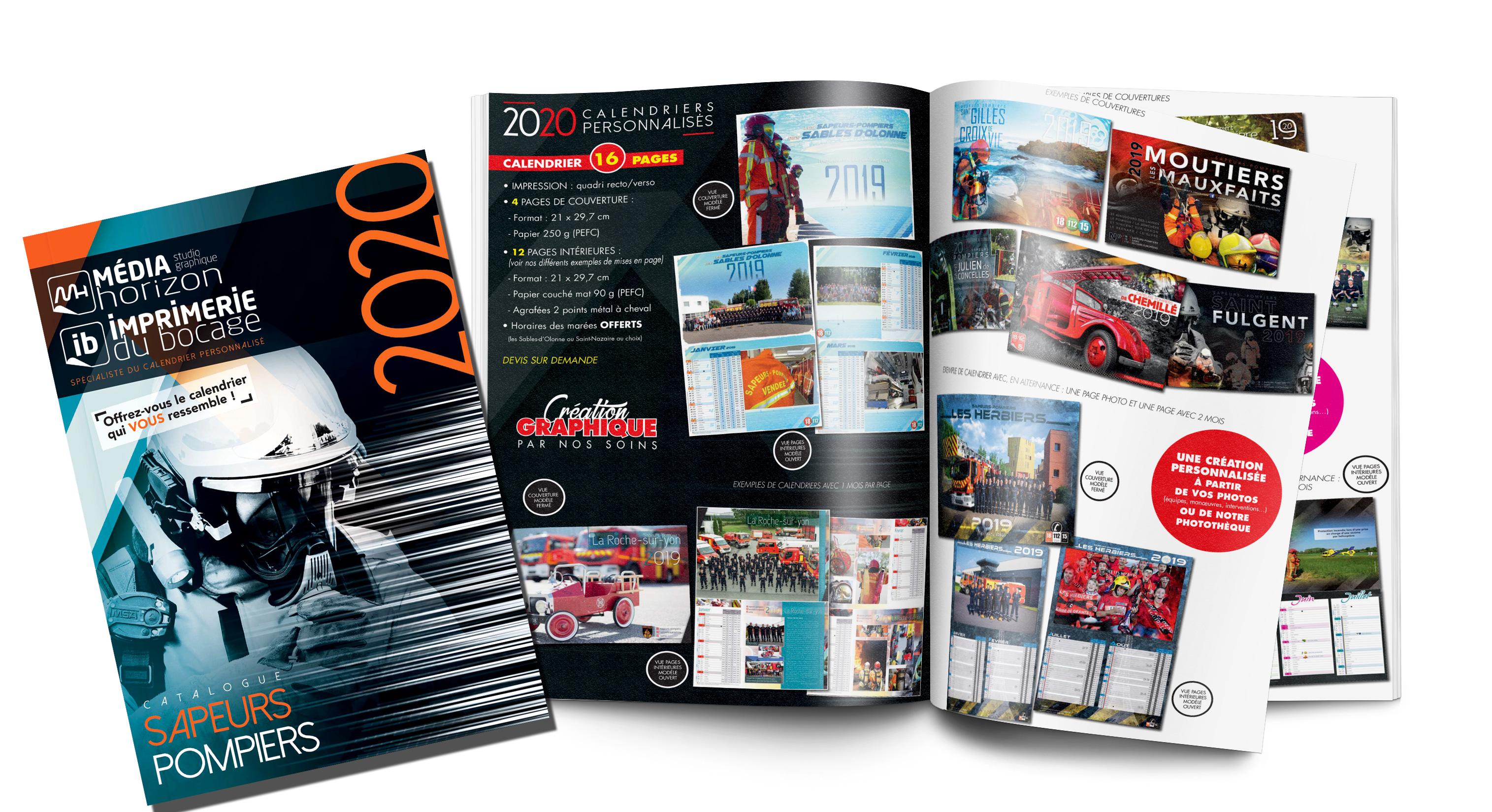 Calendrier 2020 Pompiers.Decouvrez Notre Plaquette Pompiers 2020